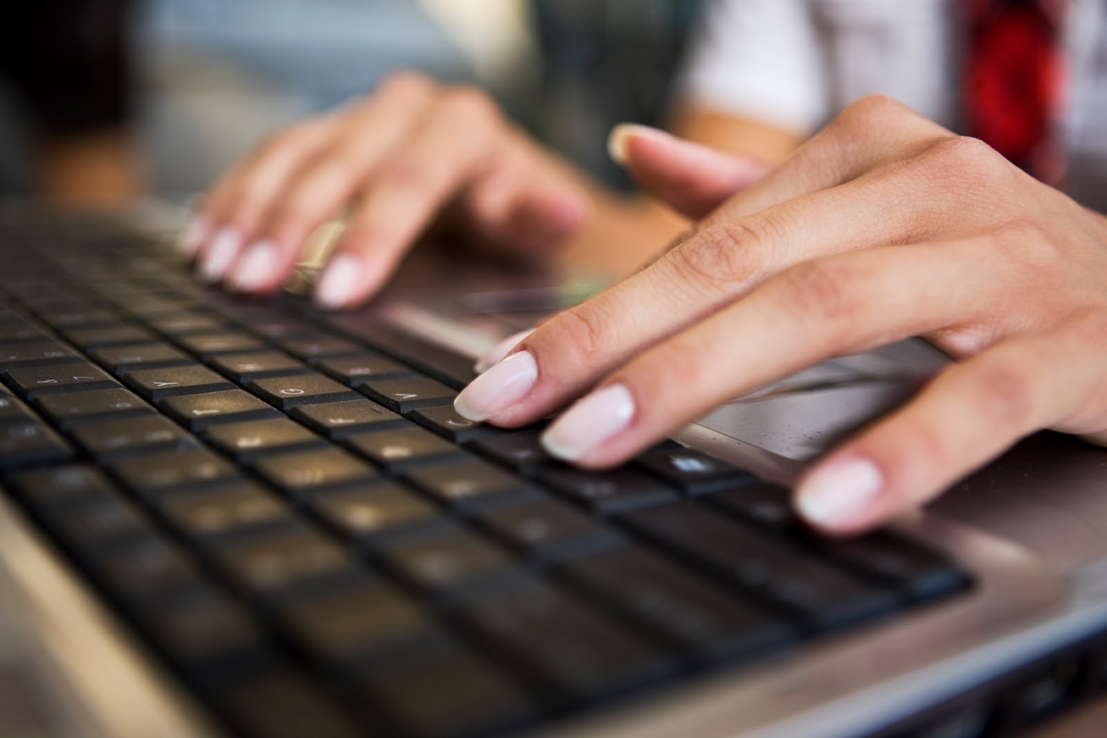 woman-typing-on-keyboard - The Typing DepartmentThe Typing Department